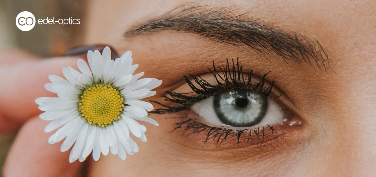 diferite niveluri de vedere în jurul ochilor
